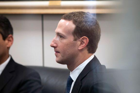 Zuckerberg legger seg flat: «Det var min feil, og jeg er lei meg»