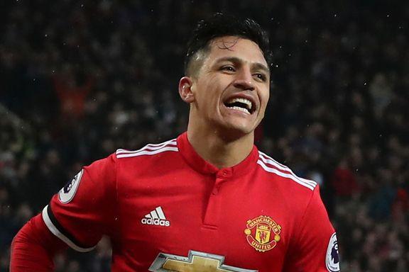 Sanchez holdt på å tabbe seg ut i hjemmedebuten, men kunne smile til slutt