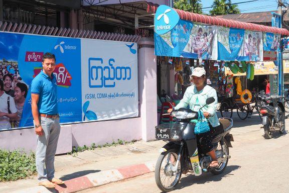 Telenor skal fortsatt søke å være en tydelig stemme i Myanmar
