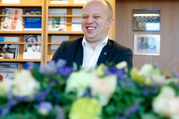 Erna Solberg har gjort Trygve Slagsvold Vedum til hovedfiende. Det bør han juble over | Harald Stanghelle