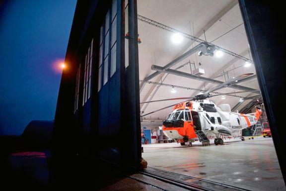 Teknisk svikt på redningshelikopter - skadet turist måtte bæres i syv timer
