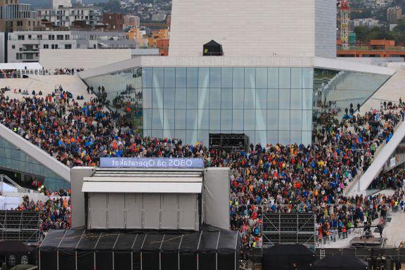 Operaen avlyser forestilling. FHI anbefaler stans i arrangementer med over 500 deltagere.
