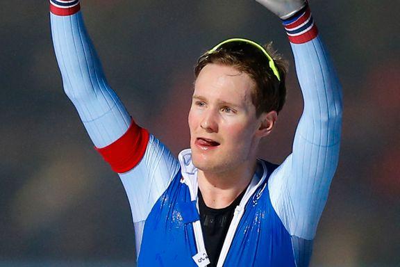 Sverre Lunde Pedersen om bragden: – Nå har jeg endelig slått ham på 5000 meter. Neste mål er å slå ham sammenlagt.