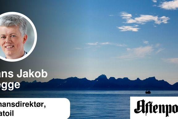 Bør en professor si nei til mer kunnskap om oljeleting i Lofoten?   Hans Jakob Hegge