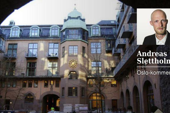 Dette er den døde delen av Oslo sentrum. Den kan gjenopplives med riktig medisin   Andreas Slettholm