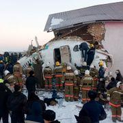Minst 14 døde etter flykrasj i Kasakhstan