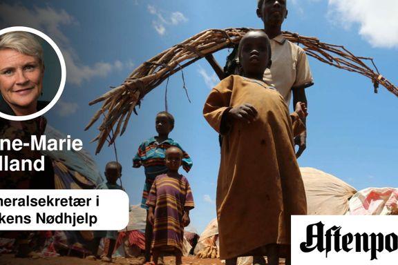 Det er uakseptabelt å bruke bistand som pisk | Anne-Marie Helland