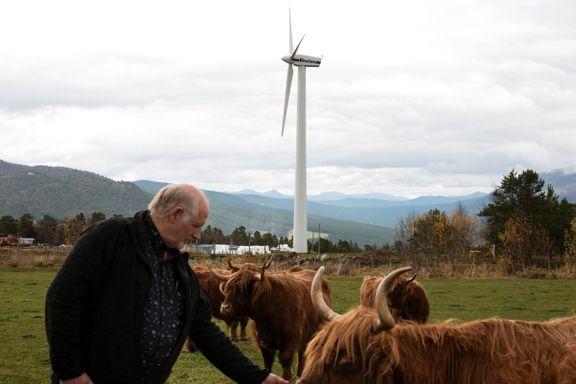 Bonden kjøpte egen vindmølle – forstår ikke motstanden