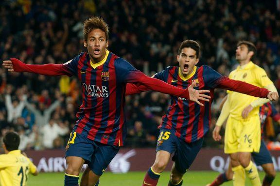 Neymar tar ansvar i Messis fravær