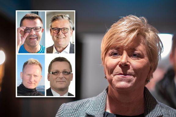 Fire fylkesledere ber Jensen ta Frp ut av regjering: – Nok er nok