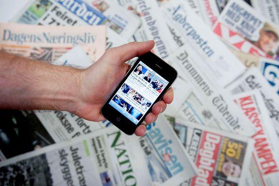 Flere enn åtte av ti nordmenn leser norske medier hver dag