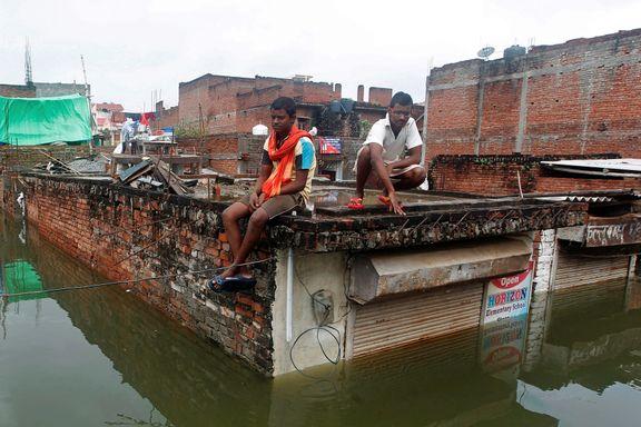40 døde i flom i India