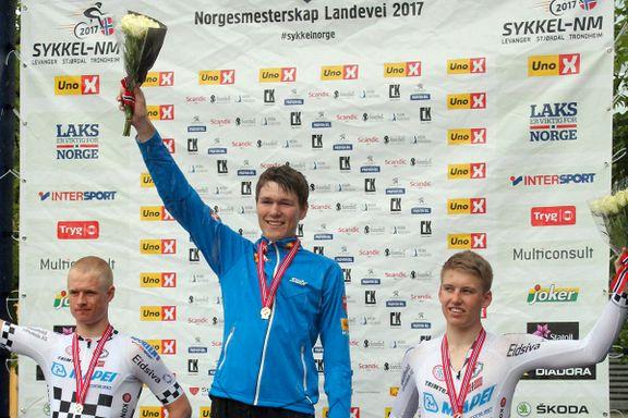 Mandalitt vant fire medaljer i sykkel-NM: – Minner om Boasson Hagen