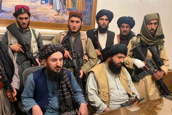 Taliban planlegger nytt styre: – Kvinner bør inn i regjeringen i henhold til sharia