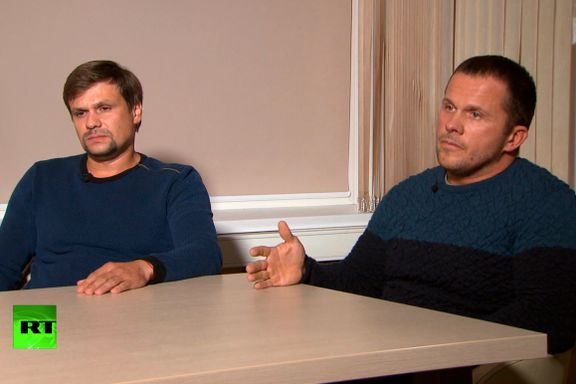 Er dette to russiske homofile som elsker høye gotiske kirketårn? Eller bare to uheldige giftmordere? Russere flest er ikke i tvil.
