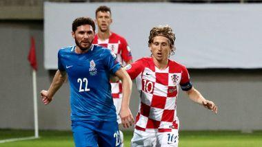 Modric og Kroatia kan få trøbbel i EM-kvaliken etter pinlig poengtap