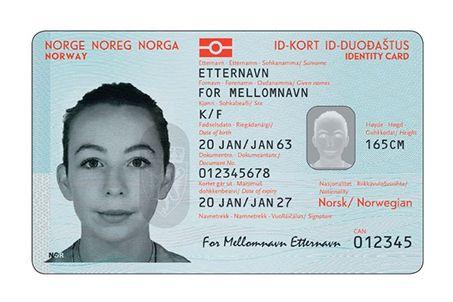 Skulle utstedes i 2017: Nå må alle ID-kortene som skal erstatte pass i Schengen-landene ha nye og større chipper