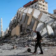 1000 raketter avfyrt fra Gaza. Israel trapper opp bombingen.