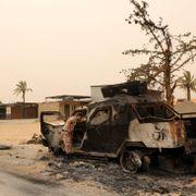 Opprørere drept i angrep i Libya