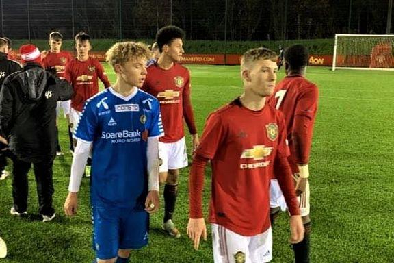 TIL-talentene rystet Manchester United i England: – En helt fantastisk kamp