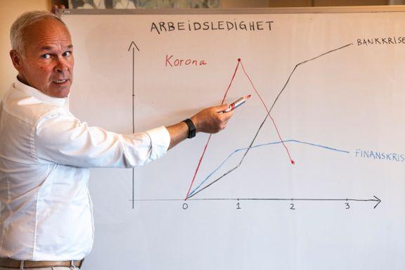 Jan Tore Sanner: – Den økonomiske krisen er over
