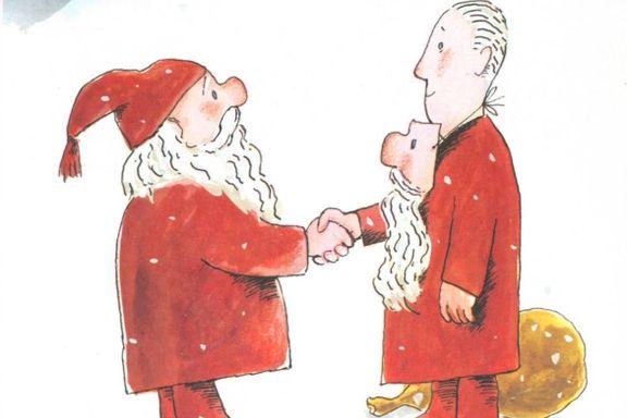 Kunstanmeldelse: I Hans Norman Dahls verden finnes julenissen likevel