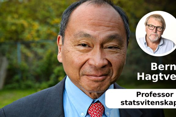 Fukuyama er blitt den moderne verdens fremste kronikør