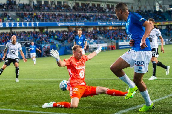 Sjekk hvor mange timer Molde-spissen har spilt mot Rosenborg uten å score