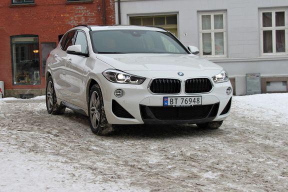 Prøvekjørt BMW X2: Kul, men litt tøysete