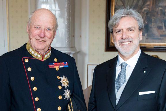 Italiensk toppdiplomat snakker ut om Grandiosa - og norsk byråkrati