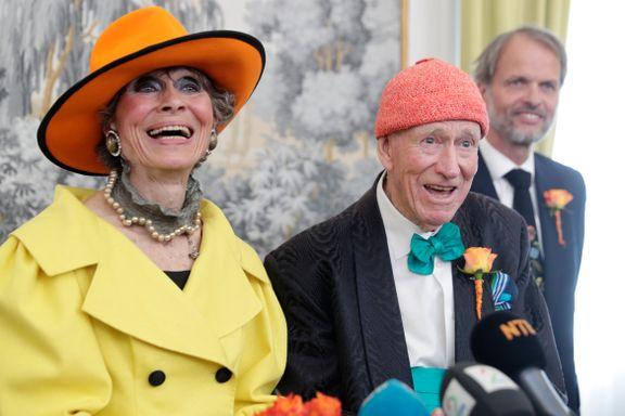 Nå er de herr og fru Thon: – En stadfestelse av en lang kjærlighetshistorie