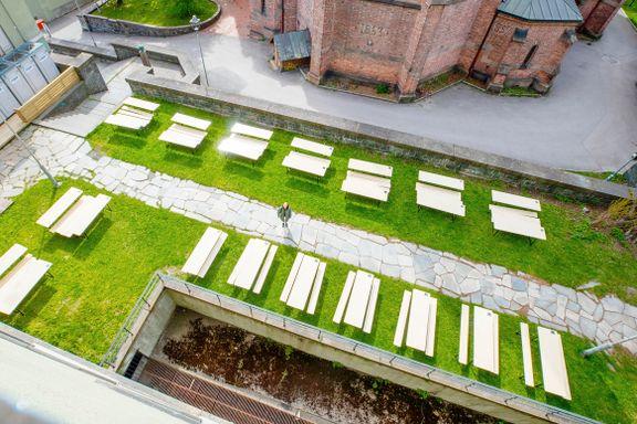 Fredag åpnes byens nyeste uteservering med 160 plasser