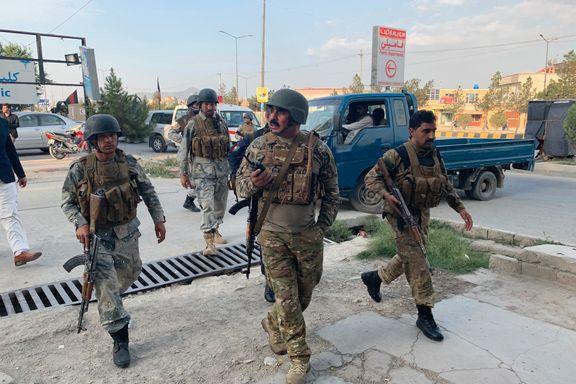 Partikontor under angrep i Kabul