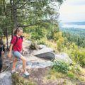 Du trenger ikke dra til Hardangervidda eller Jotunheimen for en topptur. Vi dro til Maridalen.