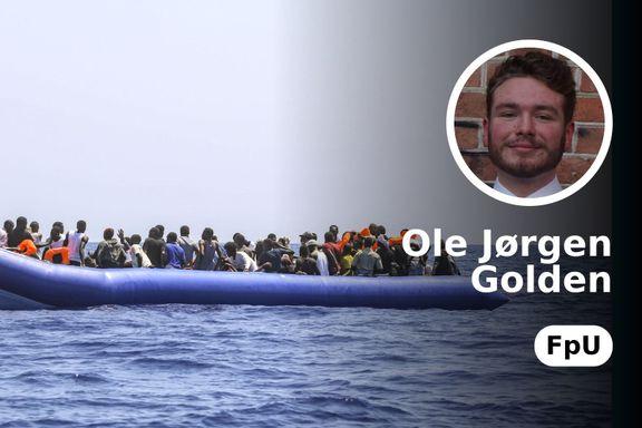 Norge bør ikke påta seg å ta inn båtmigranter