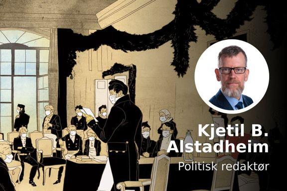 Normal politisk kiving er satt på pause. Spørretimen er avlyst. Norsk politikk har satt seg selv i karantene.