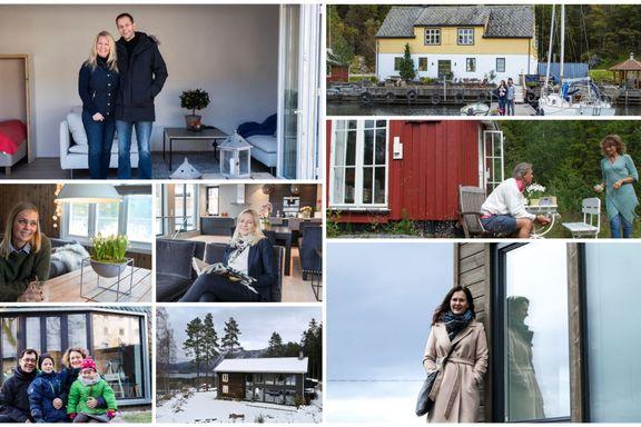 Hver uke besøker vi folks hus og hytter. Disse åtte var blant de mest leste