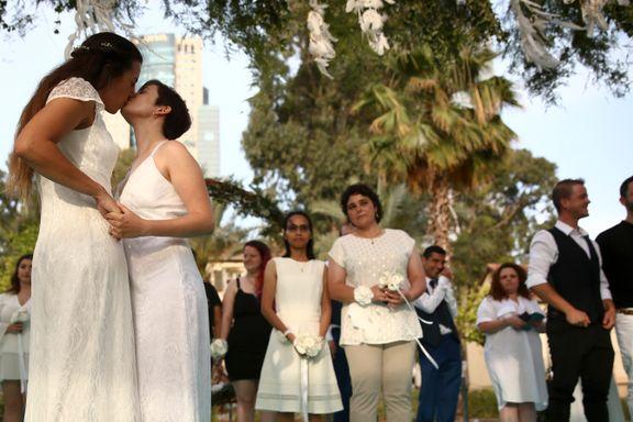 Korona hindret homofile i å reise til utlandet for å gifte seg. Nå har de funnet en annen løsning.