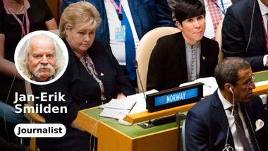 Vil Søreide utfordre Trump i FN?