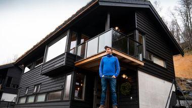 Komikeren hadde ett spesielt krav før han kjøpte hytte: - Akkurat slik vi vil ha det