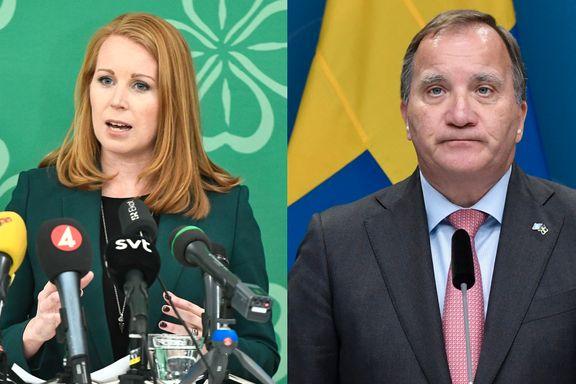 Annie Lööf burde ikke latt det gå så langt. Dette er en krise Sverige ikke trengte.