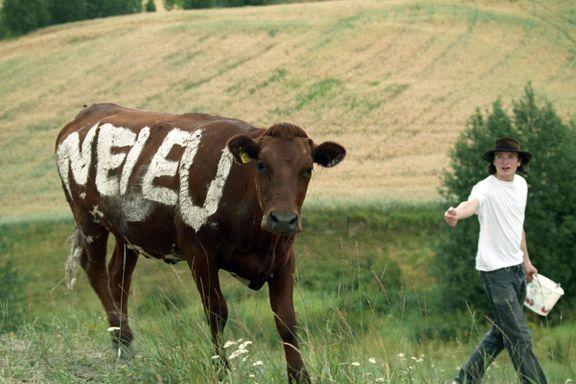 Bøndene kutter i støtten til «Nei til EU»