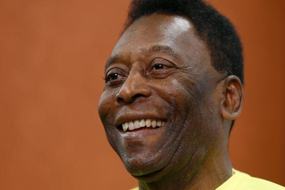 Pelé innlagt på sykehus i Paris