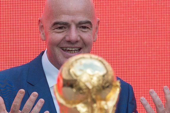 FIFA sliter med sponsortørke: – Det er et «giftig» varemerke for tiden
