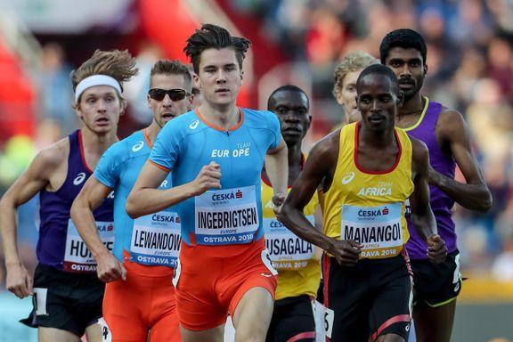Dopingutestengt rival lover Jakob Ingebrigtsen gullkamp: – Jeg er i fantastisk form