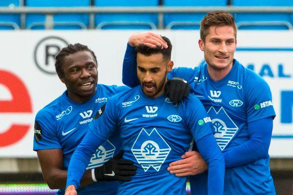 Molde slo Tromsø og står med full pott etter tre kamper