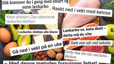 Keto-dietten er blitt populær. Men er det egentlig så lurt å følge den?