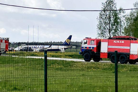 Ryanair-fly ble tvunget til å lande – frykter dødsstraff for pågrepet aktivist