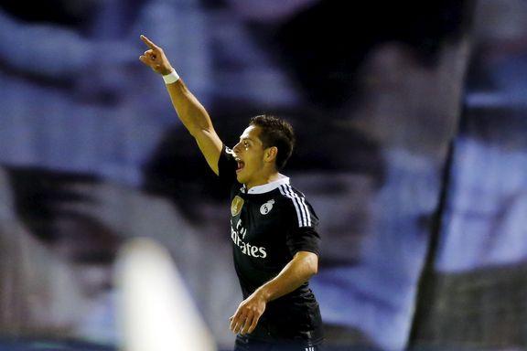 Utlånt United-spiller scoret to for Real Madrid
