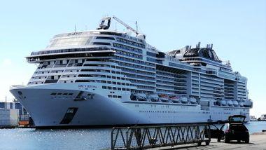 Dette er planen: I mai skal flere tusen på norgescruise med dette splitter nye skipet